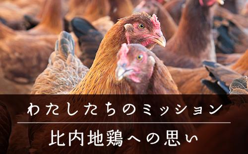 わたしたちのミッション/比内地鶏への思い