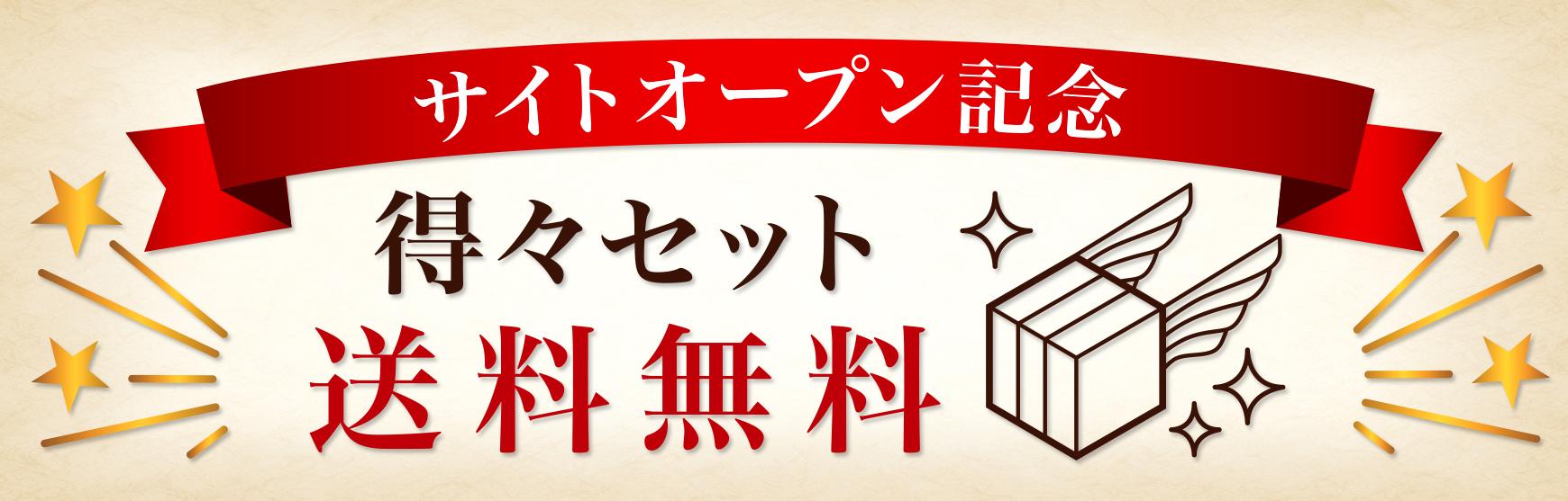 サイトオープン記念/送料無料セット